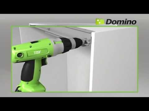 FGV Domino sliding door system assembly