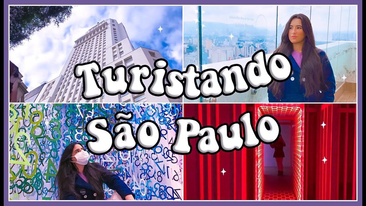VLOG: TURISTANDO EM SÃO PAULO - FUI NAS EXPOSIÇÕES DO FAROL SANTANDER