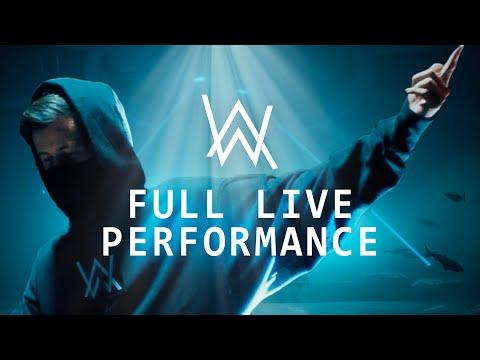 Alan Walker - LIVE the Bergen Aquarium (18 июня 2020)