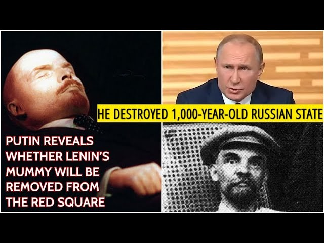 Putin Lenin Was Not A Statesman He Was A Bolshevik Revolutionary Who Made Anti Russian Mistakes Youtube