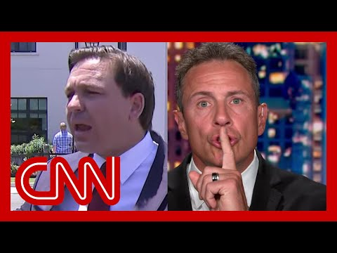 Chris Cuomo responds to Florida governor's virus boast