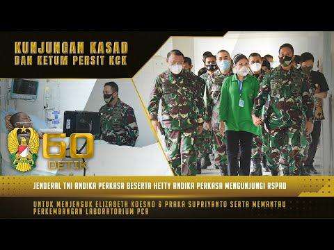 Kunjungan Kasad ke RSPAD Gatot Soebroto Jenguk Korban Heli MI-17