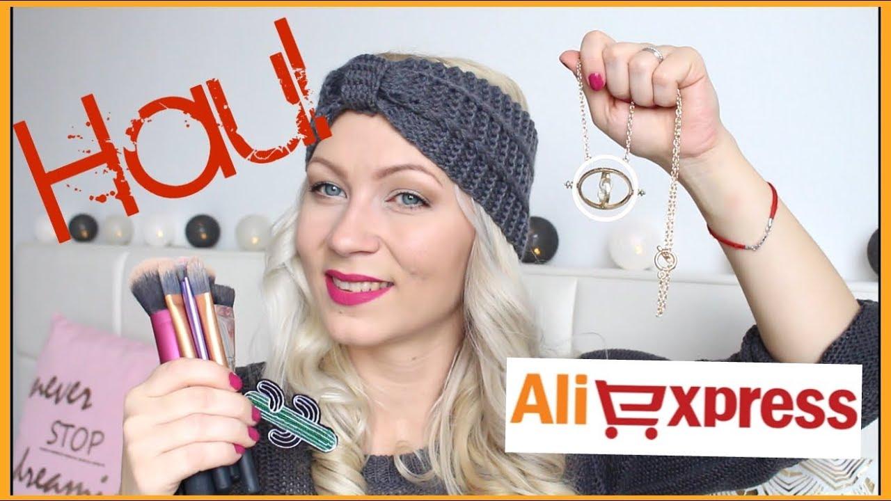 Aliexpress haul / 1. nákupy :D