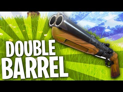 Fortnite In Depth: Double Barrel Shotgun Guide
