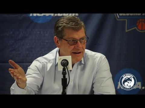 UConn Women's Basketball NCAA Tournament Postgame - 1st Round