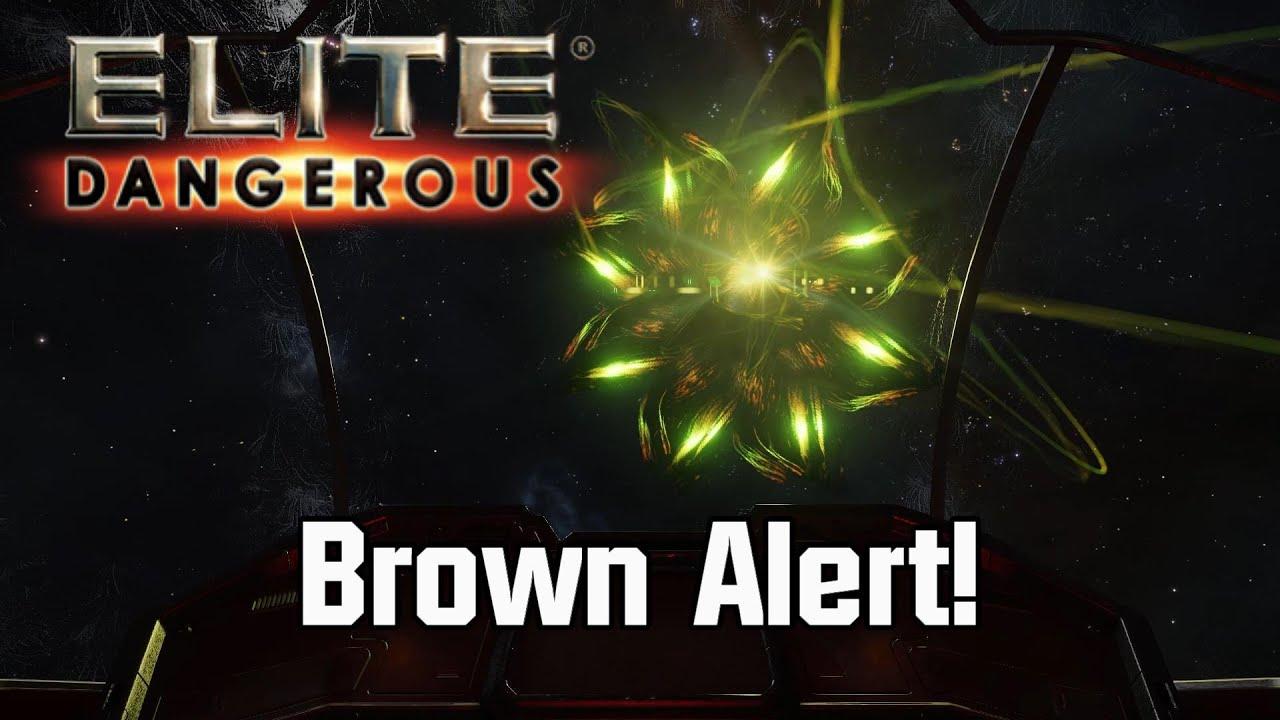 Elite: Dangerous - Brown Alert!