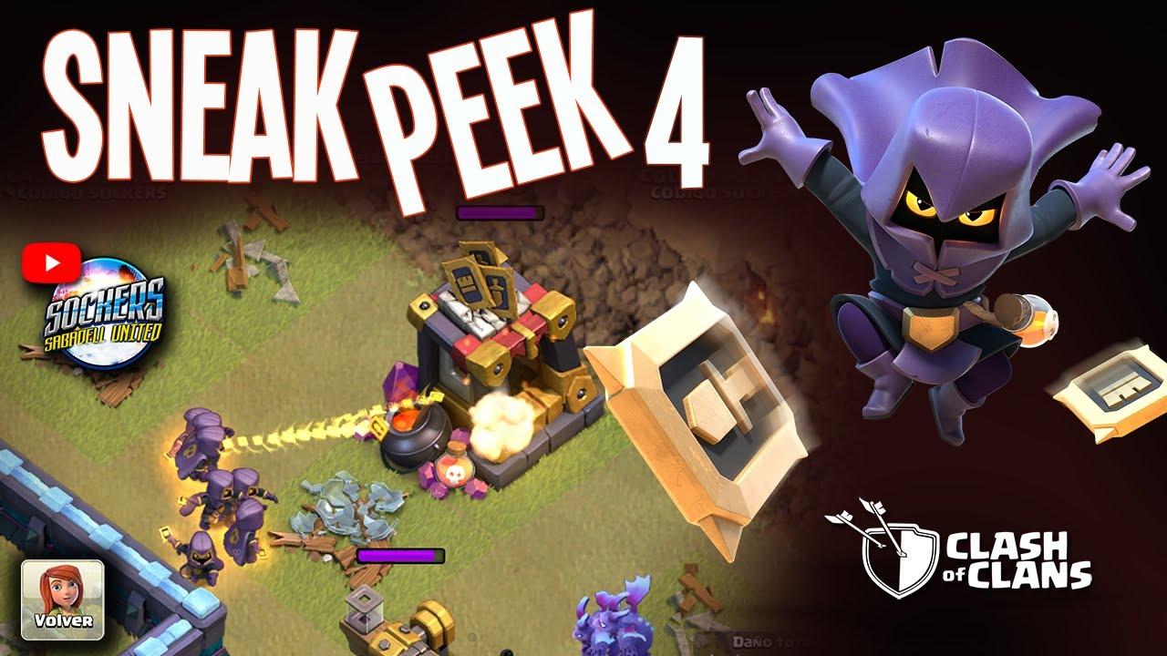 Admirable SNEAK PEEK #4   LA CAZADORA DE HEROES   CLASH OF CLANS   UPDATE QY-68