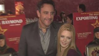 "BRAD GARRETT and ISABELLA QUELLA at ""EXPORTING RAYMOND"" Premiere"