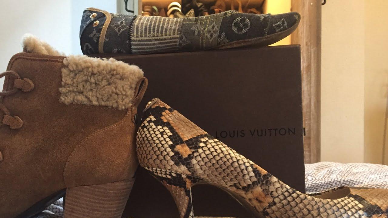 ASMR Shoe Collection!(Louis Vuitton , Uggs, Prada!| Lovely ASMR S