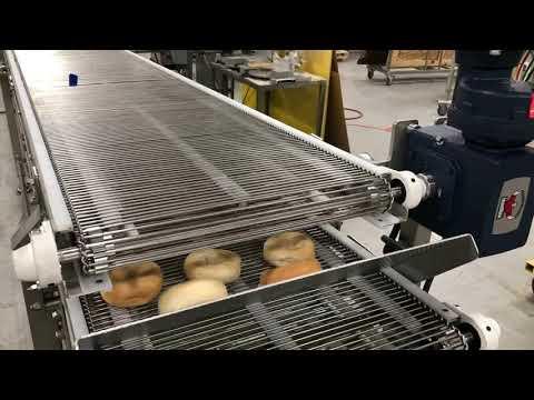 Wire Mesh Belt Bakery Conveyor by Multi-Conveyor