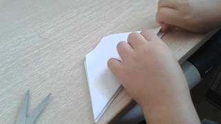 Лягушка квакушка из бумаги /Мастерская Оригами