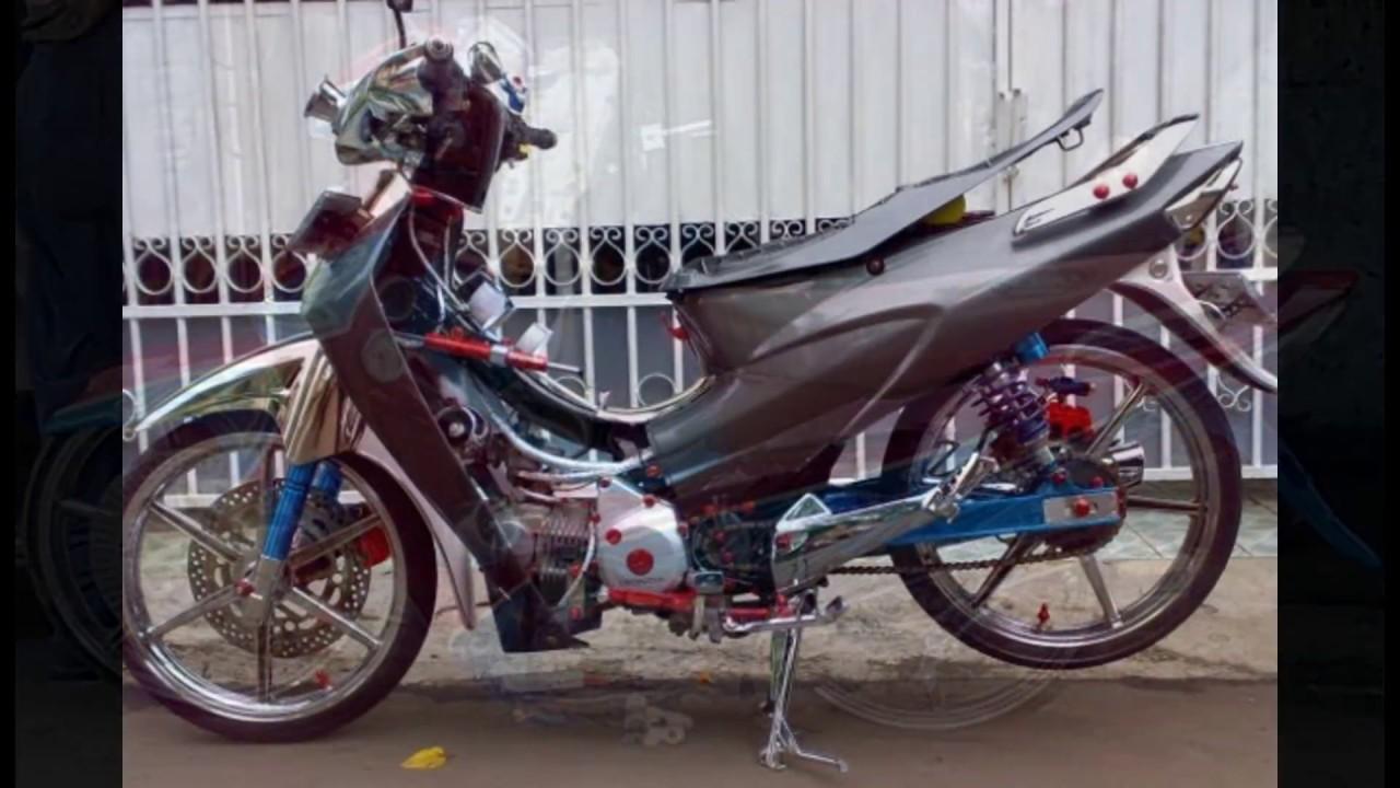 Modifikasi Motor Honda Karisma 125 Terkeren