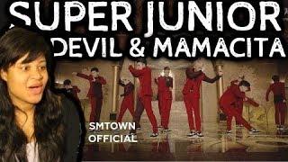 REACTION TO SUPER JUNIOR | DEVIL & MAMACITA