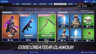 BOUTIQUE FORTNITE DU 9 JUILLET 2019 - FORTNITE ITEM SHOP JULY 9 2019 - NEW SKIN