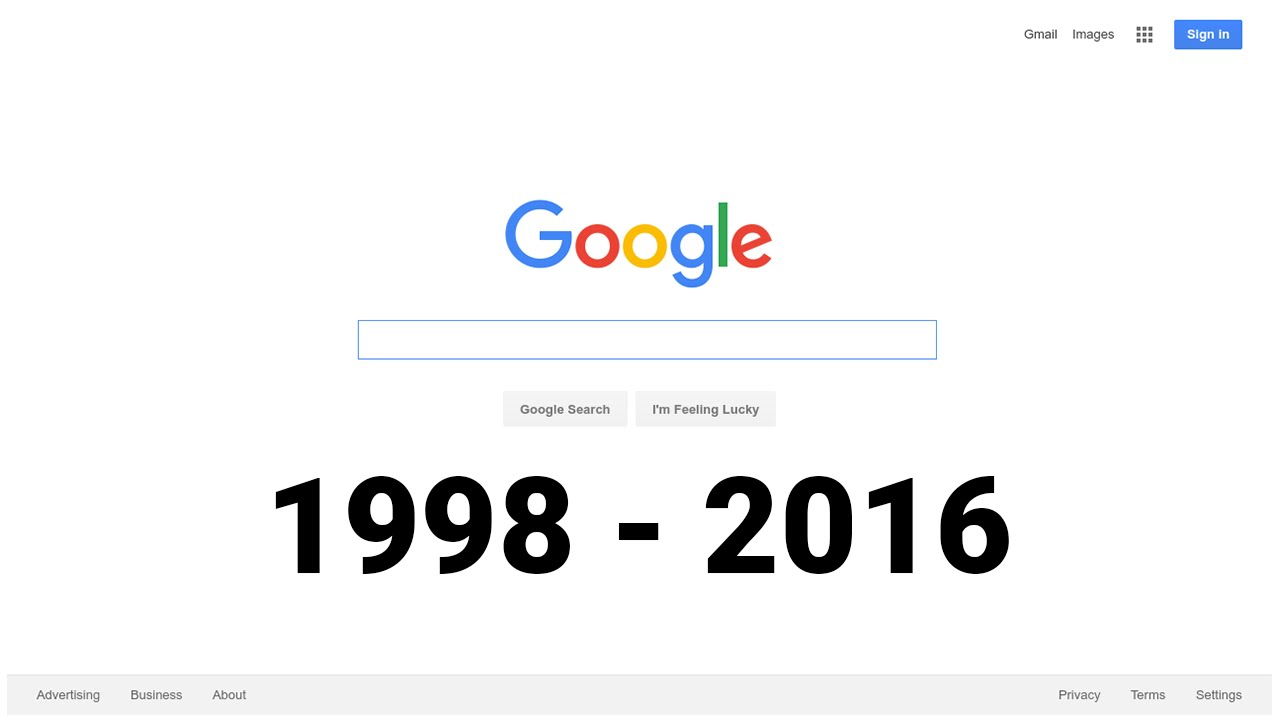 Best Kitchen Gallery: 18 Years Of The Google Homepage 1998 2016 Youtube of Google Home Page Graphics on rachelxblog.com