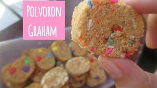 Polvoron Graham | How to make Polvoron Graham