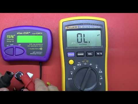 Review: Peak Atlas ESR70 Capacitance and ESR meter
