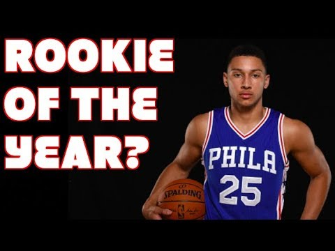 Has Ben Simmons ALREADY WON the 2018 ROOKIE OF THE YEAR Award?