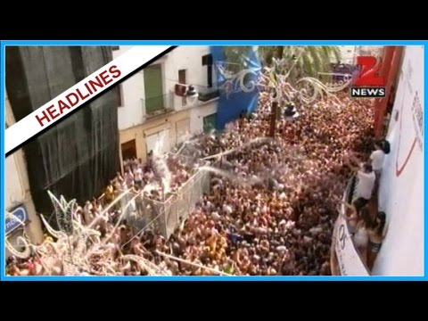 News @ 11 | Tomatino Festival celebrated in Spain | Part -3