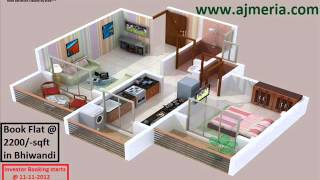 Real Estate Plot 1BHK 2BHK flat apartments for sale in bhiwandi