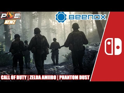 Call of Duty WWII Teased for NS by Beenox? Switch Update 2.3, Cosmic Star Heroine & MORE! | PE NewZ