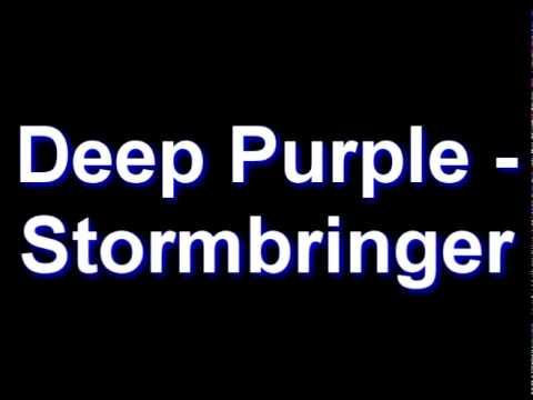 Deep Purple - Stormbringer Chords - Chordify