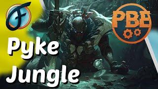 Untalentiert? Stört uns nicht Pyke Jungle Gameplay PBE German