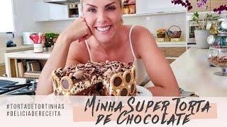 MINHA SUPER TORTA DE CHOCOLATE | ANA HICKMANN
