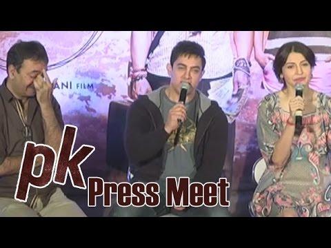 PK Team Press Meet At Hyderabad - Aamir Khan |Anushka Sharma | Rajkumar Hirani