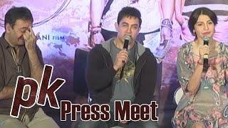 PK Team Press Meet At Hyderabad - Aamir Khan |  Anushka Sharma | Rajkumar Hirani