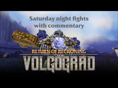 Return of Reckoning : solo IB, saturday night fights, with commentary