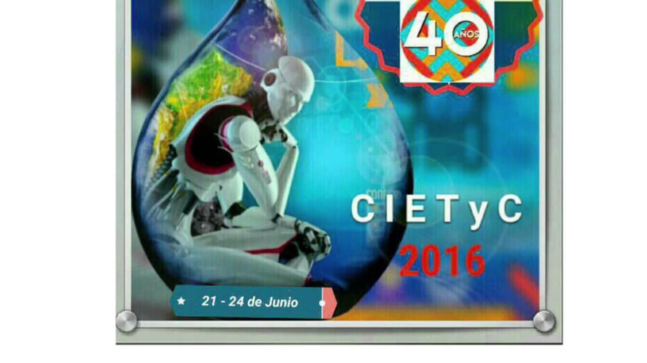 I congreso internacional de medio ambiente ciencia for Tecnologia sostenible