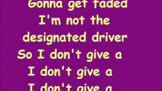 Kesha - Take It Off / LyricS