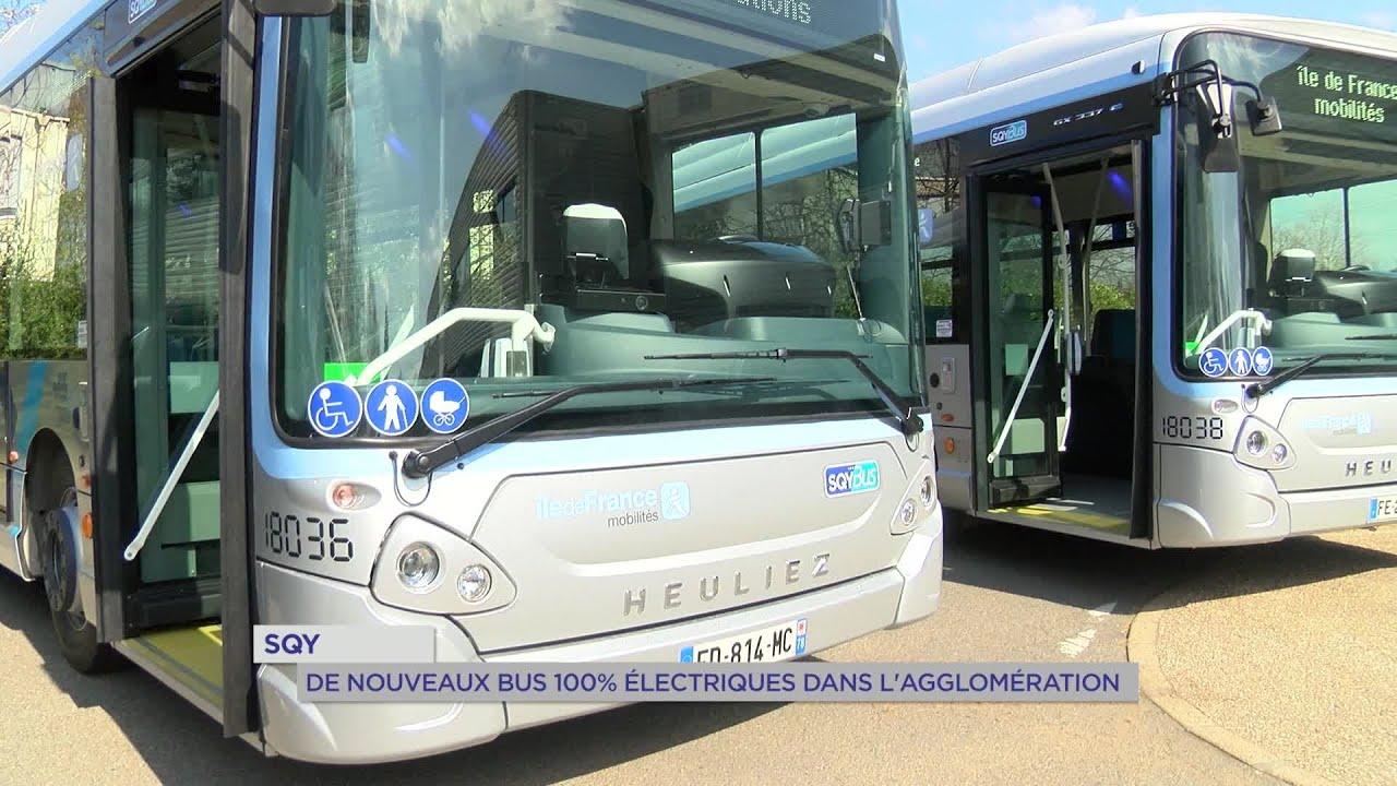 Yvelines | SQY : De nouveaux bus 100% électriques dans l'agglomération