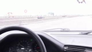 BMW E30 install TOYOTA V8 3UZ-FE 6AT 0~200KM/H Acceleration