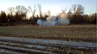 Tannerite - ammonium nitrate/ aluminum powder explosive