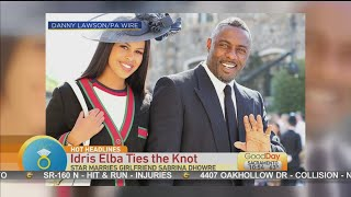 Hot Headlines: Idris Elba Married