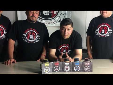 Presentación de Sazonadores Grilled Bros *RUB FEST* || GrilledBros