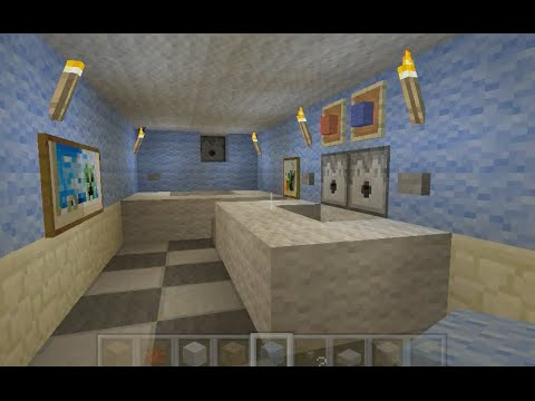Building Stampys House [33] - Bathroom