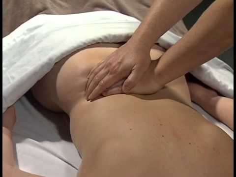 Swedish Massage Sequence - Back: Massage Therapy Skills Video #16 part 1