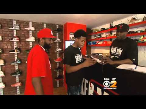 Sneaker Pawn Shop Opens In Harlem
