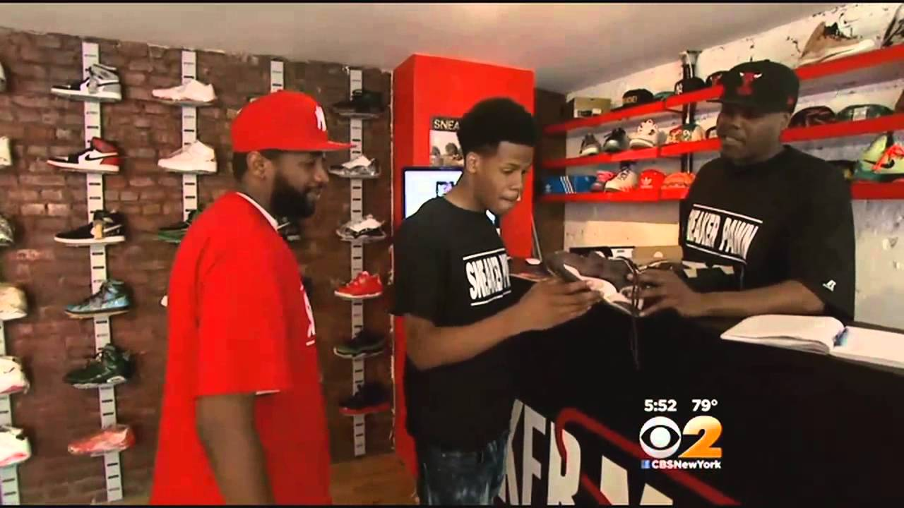 bb61215303701 Sneaker Pawn Shop Opens In Harlem