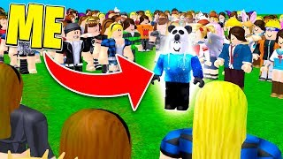 what it's like to be famous in roblox..