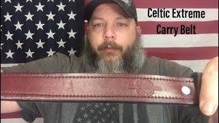 Celtic Holsters Extreme Carry Belt (one month impression)