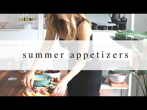 Easy Summer Appetizers | Vibrant & Healthy Snacks