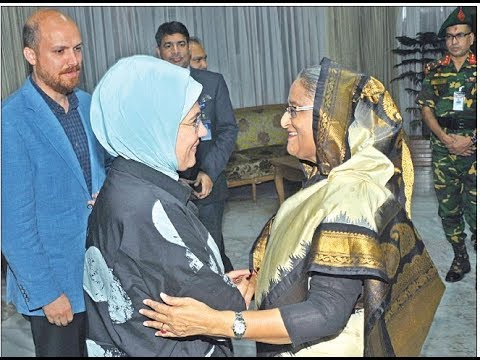 Turkey to stand beside Rohingyas & thanks to Bangladesh government: Turkish First Lady