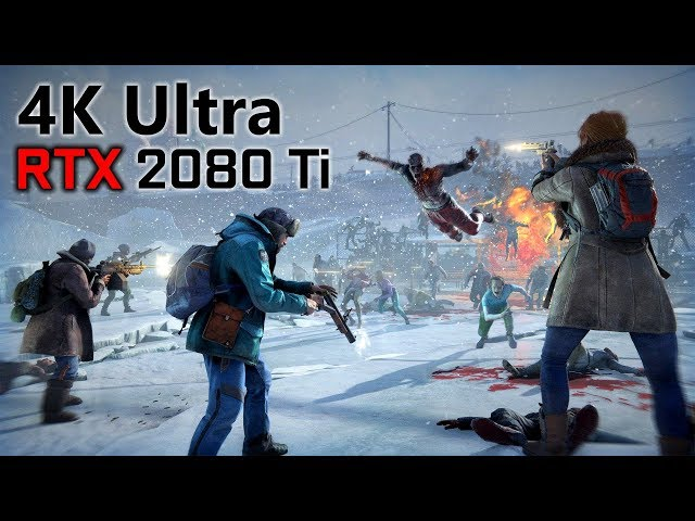 World War Z RTX 2080 Ti 4K Ultra BENCHMARK