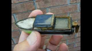 Very small SOLAR speed boat