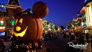 Halloween Party At Disneyland!! Mickey's Halloween Party Special Event!