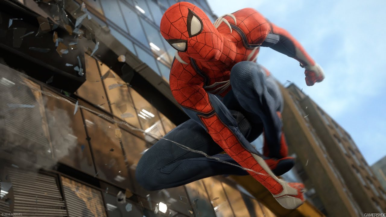 Image result for spider man ps4 gameplay 4k